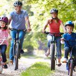 vélo en famille