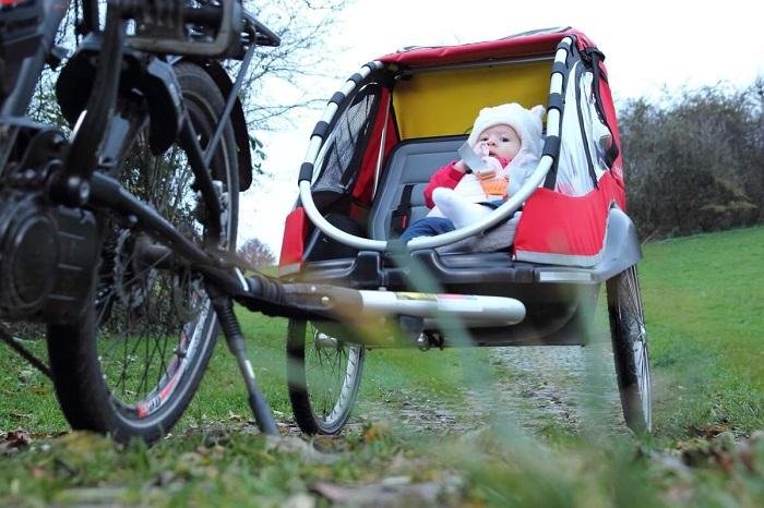 remorque vélo image
