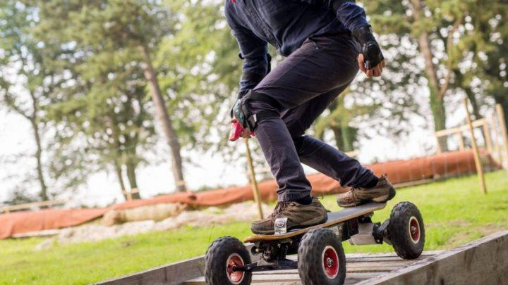 Compétition de Skate électrique, ça existe !